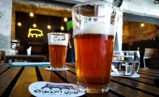 Viceversa Pale Ale de barril en Bacon Bar, Narvarte - Viceversa Cervecería