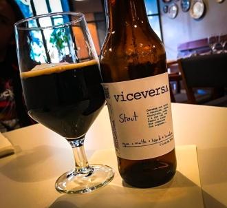 Viceversa Stout en Alelí Colonia Roma - Viceversa Cervecería